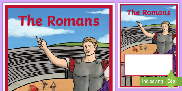 The Romans Book Cover - romans, roman empire, roman, history