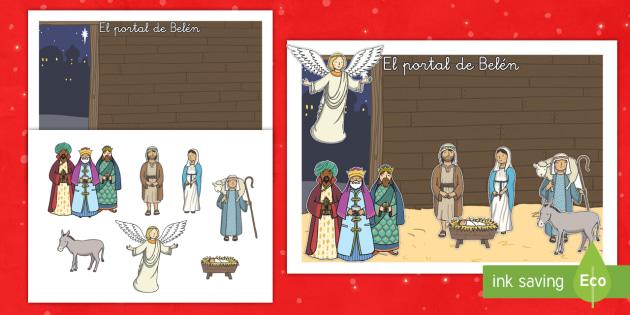 Crea tu propio Belén - belen, primera navidad, navidad, decorar, decoración, adornos, adornar - belen, primera navidad, navidad, decorar, decoración, adornos, adornar