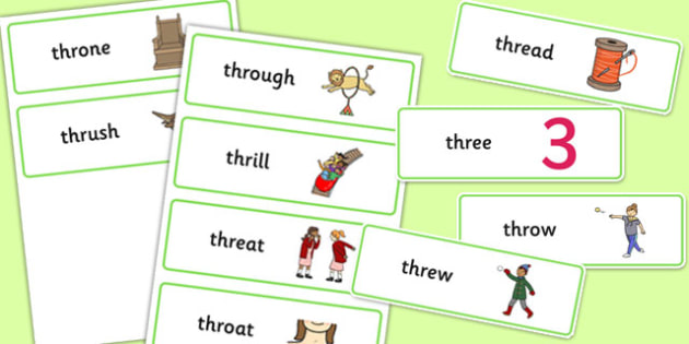 THR Sound Word Cards - speech sounds, phonology, articulation, speech therapy, cluster reduction