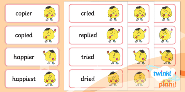 PlanIt English Year 2 Term 2A Spelling Word Cards - Spellings Year 2, Term 2A, word cards, spellings, y1, ks1, english, literacy, writing