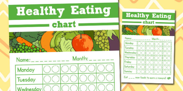 Healthy Eating Chart - healthy, eating, chart, health, eat, food