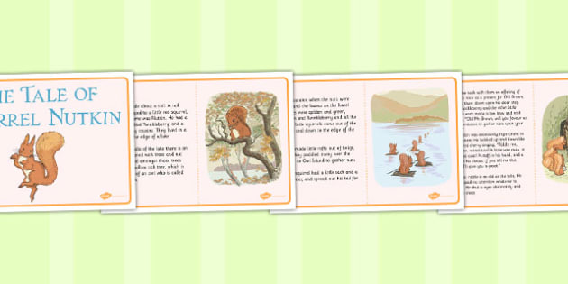 The Tale of Squirrel Nutkin Story - squirrel nutkin, story, tale