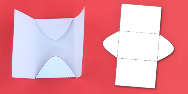 Interactive Notebook Flat Envelope - craft, paper craft, envelope