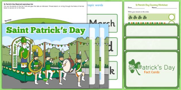 Top 10 St Patrick's Day Resource Pack - top ten, resource pack, st patricks day
