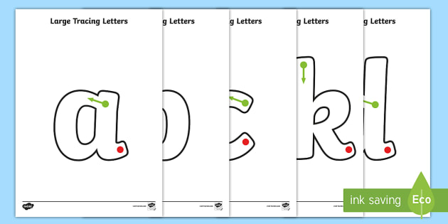 Large Phase 2 Tracing Letters - tracing letters, phase 2, phase two, handwriting, letter formation, writing practice, foundation, letters, writing, learning to write, DFES letters and sounds