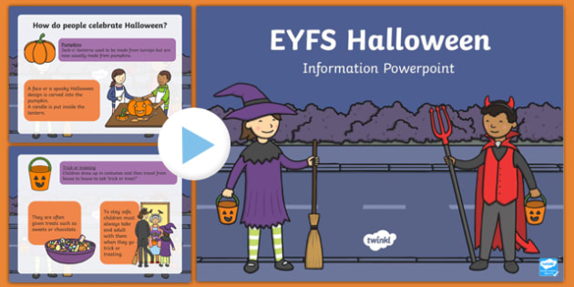 EYFS All About Halloween PowerPoint