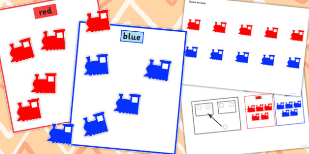 Colour Sorting Activity Set 2 - colour, sorting, activity, set, 2