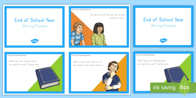 End of Year Writing and Reflection Task Cards - usa, america, end of year, writing, reflection, task cards