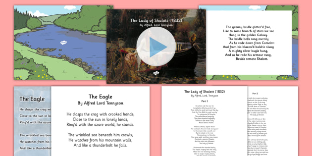 Alfred Lord Tennyson Poems Resource Pack - Reading Plan, Stimulation, Ideas, Support, English, Activity Co-ordinators, Elderly Care, Care Home,