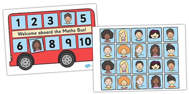 Maths Bus - maths bus poster, maths bus self registration, maths self registration, numeracy poster, maths poster, maths display resources, maths display