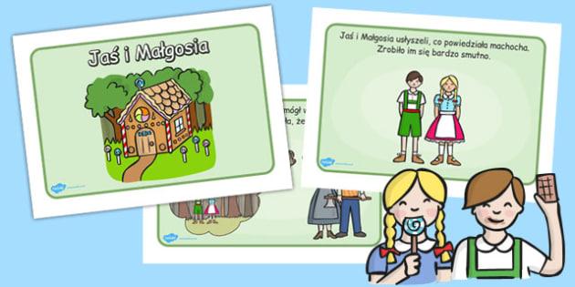 Jas i Malgosia (format A4) po polsku - do pobrania, Polish