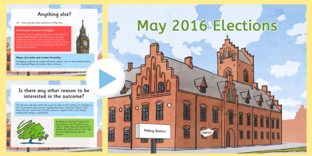 May 2016 Elections Questions and Answers PowerPoint