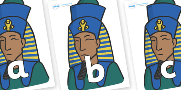 Phoneme Set on Pharaohs - Phoneme set, phonemes, phoneme, Letters and Sounds, DfES, display, Phase 1, Phase 2, Phase 3, Phase 5, Foundation, Literacy