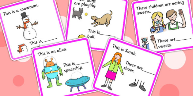 His, Her, Their And Its Fill In The Pronoun Cards - pronouns, SEN