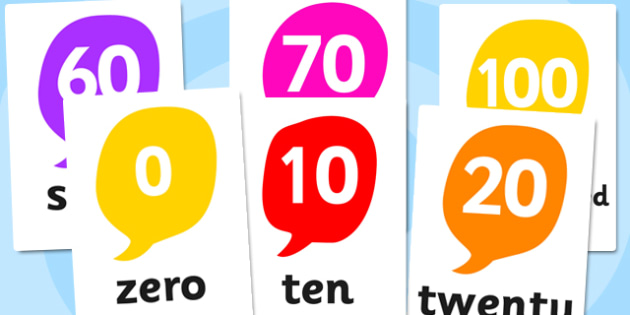 0-120 Number And Word Posters - number, word, posters, display