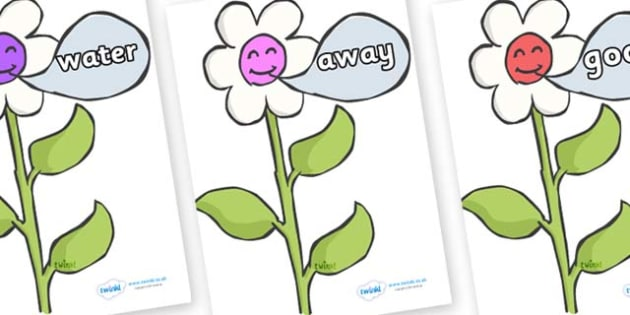 Next 200 Common Words on Flowers - Next 200 Common Words on  - DfES Letters and Sounds, Letters and Sounds, Letters and sounds words, Common words, 200 common words