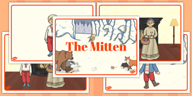 The Mitten Story Sequencing - the mitten, story, sequencing