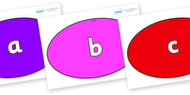 Phase 2 Phonemes on Ovals - Phonemes, phoneme, Phase 2, Phase two, Foundation, Literacy, Letters and Sounds, DfES, display