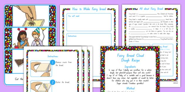 Fairy Bread Lesson Teaching Pack