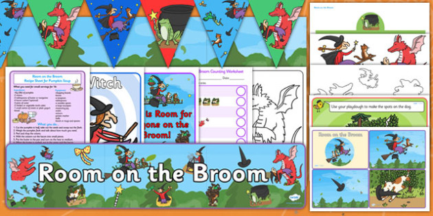 Childminder Resource Pack to Support Teaching on Room on the Broom - child minder