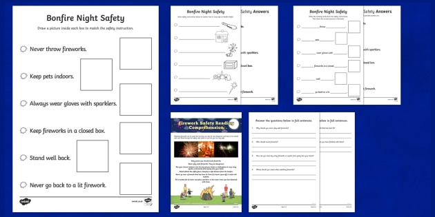 Bonfire Night Safety  Activity Pack