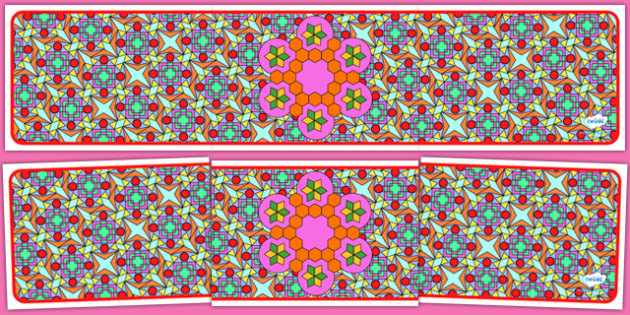 Editable Banner Diwali Pattern - editable, editable banner, diwali pattern, display, banner, display banner, display header, themed banner, editable header