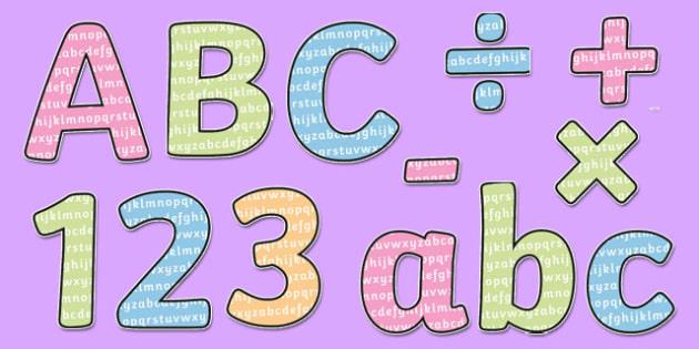 Letters Display Lettering - letters, display lettering, display, lettering, alphabet