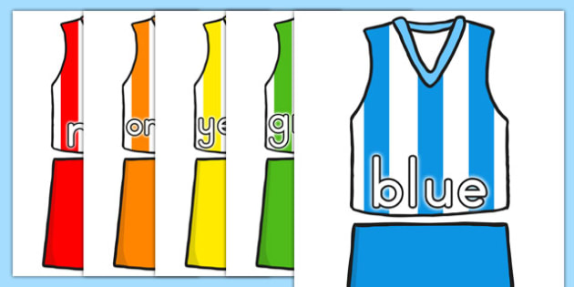 AFL Australian Football League Colour Names on AFL Football Kits