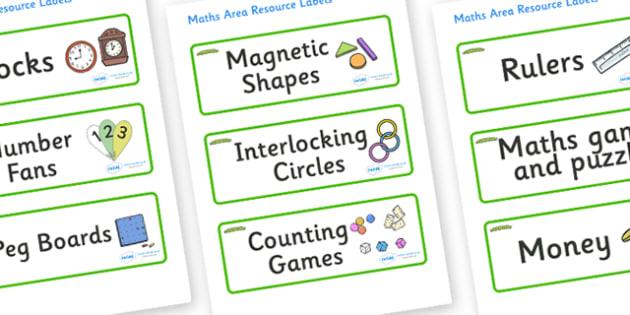 Caterpillar Themed Editable Maths Area Resource Labels - Themed maths resource labels, maths area resources, Label template, Resource Label, Name Labels, Editable Labels, Drawer Labels, KS1 Labels, Foundation Labels, Foundation Stage Labels, Teaching