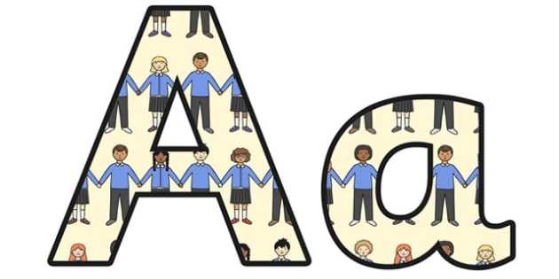 Racism Display Lettering - racism, lowercase, display lettering, display, letters, literacy, racism lettering, letter display, letter for display