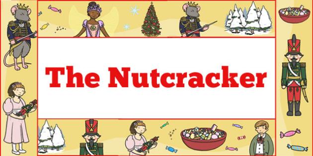 The Nutcracker Display Borders - nutcracker, display, borders