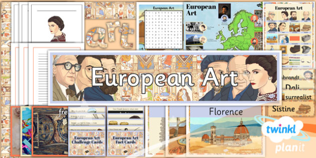 Art: European Art LKS2 Unit Additional Resources