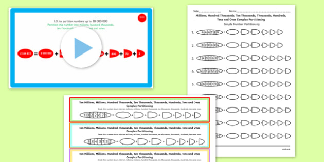 Year 6 Numbers to 1000000 Lesson 2 Teaching Pack - numeracy