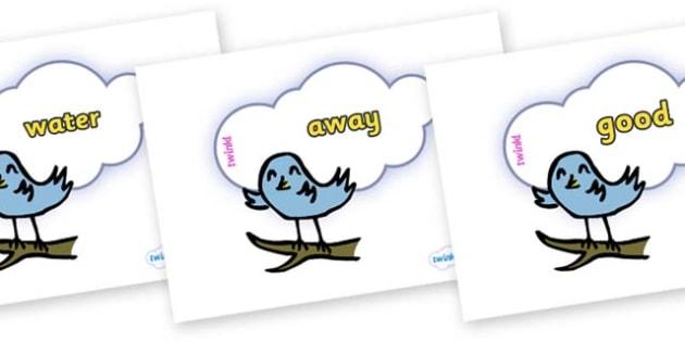 Next 200 Common Words on Birds - Next 200 Common Words on  - DfES Letters and Sounds, Letters and Sounds, Letters and sounds words, Common words, 200 common words