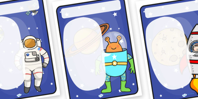 Space Themed Target Posters Large Speech Bubble - space, space themed, target posters, targets, class targets, themed targets, themed poster, space targets