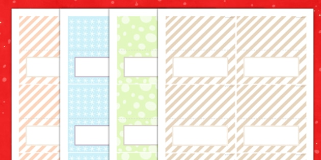 Christmas Dinner Place Name Templates - christmas dinner, place name, templates, christmas, dinner