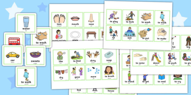 First Word Cards Arabic Translation - arabic, first word, cards, first, word