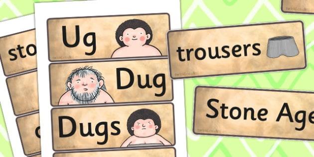 Word Cards to Support Teaching on Ug - ug, word cards, word, cards, vocabulary, ks2