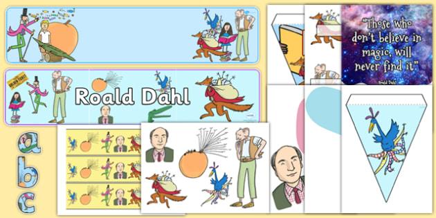 Roald Dahl Day Display Pack - roald dahl, day, display pack, display, pack