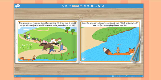 The Gingerbread Man eBook - books, interactive books, reading