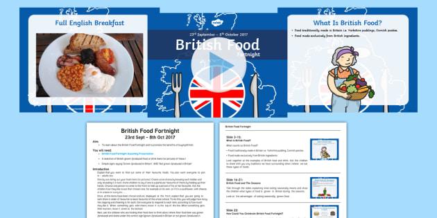 British Food Fortnight Assembly Pack - british food fortnight, assembly, pack