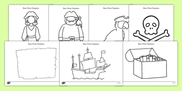 Basic Pirates Template Resource Pack - basic, template, resource, pack, pirates