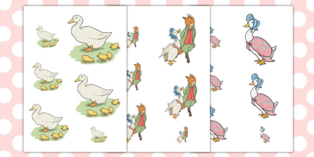 The Tale of Jemima Puddle-Duck Size Ordering - jemima puddle-duck