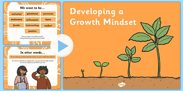Growth Mindset PowerPoint - growth mindset, growth, mindset, powerpoint