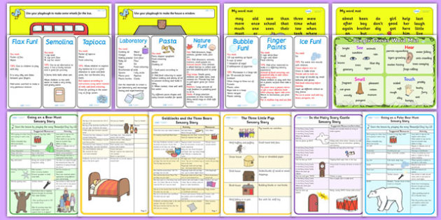 Teaching Assistant Sensory Needs Resource Pack - sensory, pack