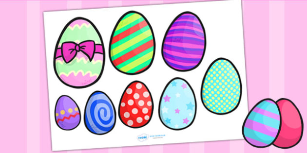 Easter Size Ordering - easter, size, shape, order, religion, RE