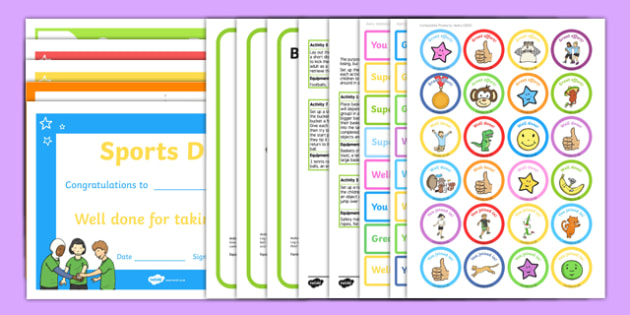 EYFS Multi-Skills Sports Day Resource Pack