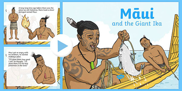 Maui and the Giant Ika PowerPoint