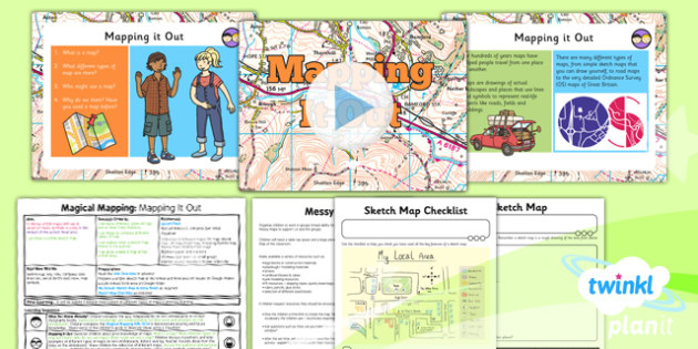 Geography: Magical Mapping: Mapping It Out Year 2 Lesson Pack 1
