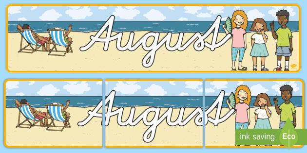 August Display Banner German - german, august, display banner, display, banner